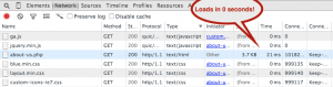 REALLY FAST JQUERY