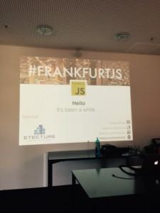 Javascript in Frankfurt: FrankfurtJS