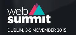 WebSummit Dublin 2015