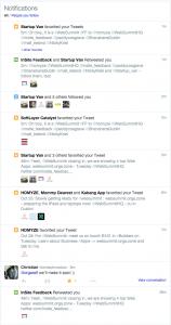 Twitter und Web Summit