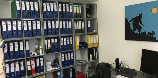 Neues Büro in Frankfurt